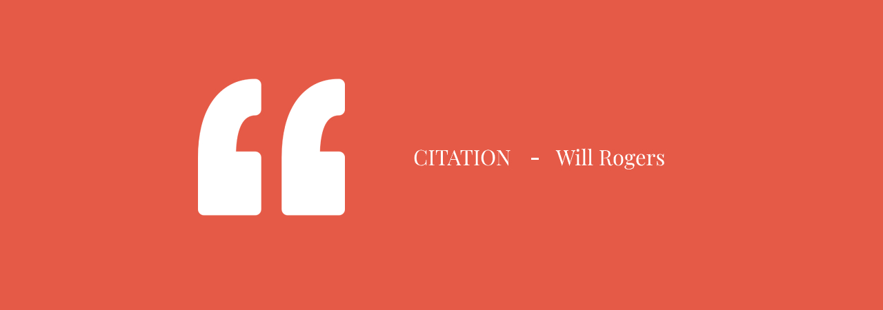 Citation Will Rogers